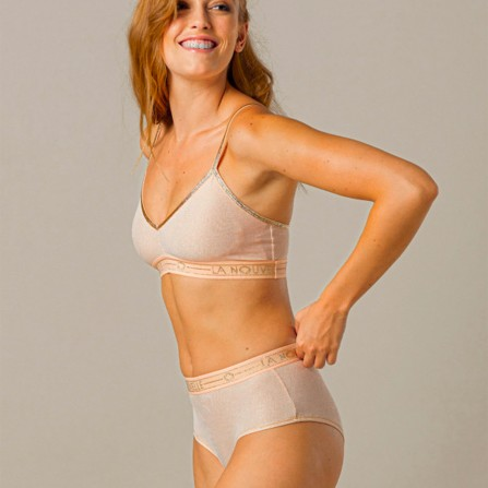 Shorty LA NOUVELLE Judith Blush Lurex