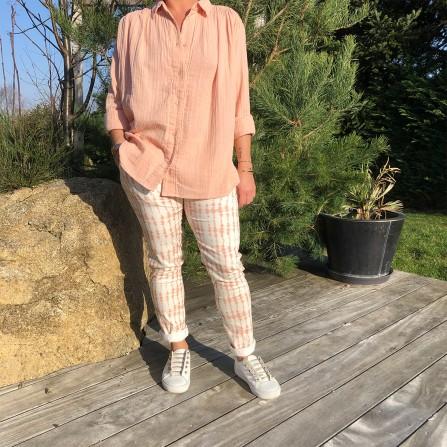 Pantalon HOD Temple Pink Tie & Die