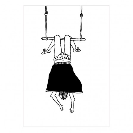 Carte Postale HELEN B Trapeze Girl