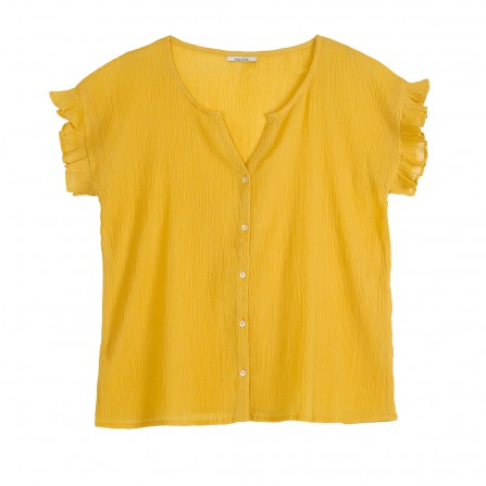 Blouse EMILE & IDA Q168 Crepon Mais