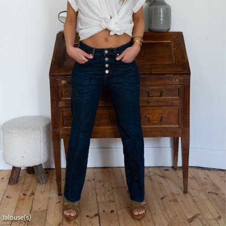 Pantalon ISLOW Manon Denim Blue Dark Vintage