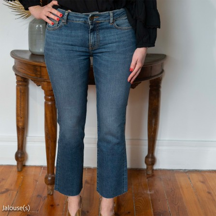 Pantalon RED LEGEND Jodie Bootcut Old Sch Blue Used N°3
