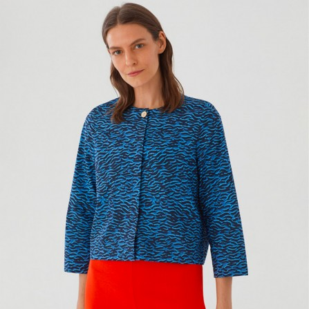 Veste NICE THINGS WWM092 134 Waves Print