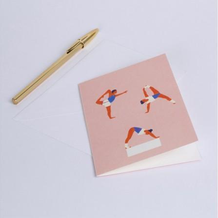 Carte à Message SEASON PAPER Yoga