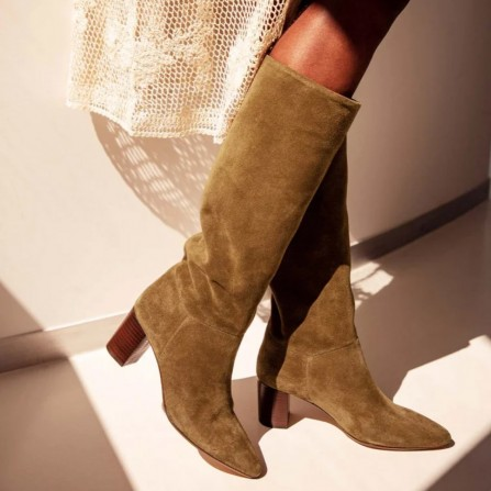 Boots RIVECOUR N°108 Suede Ecorce