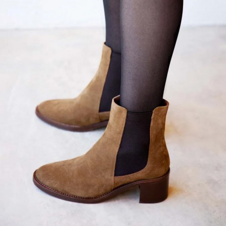 Boots RIVECOUR N°289 Suede Ecorce