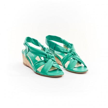 Sandale IPPON VINTAGE Ella Joy Cuir Menthe