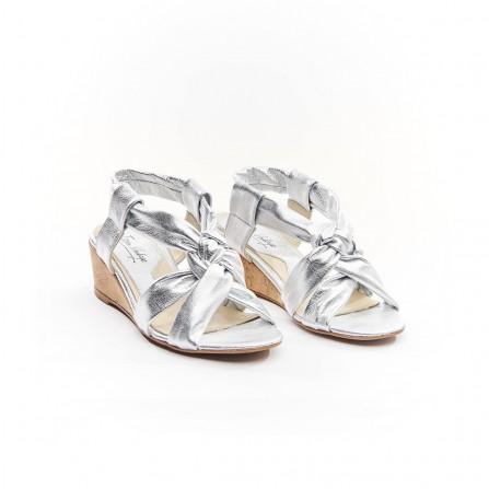Sandale IPPON VINTAGE Ella Joy Cuir Argent
