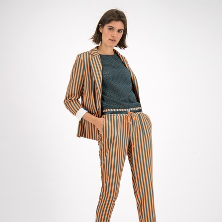 Blazer POM Stripes Lucky
