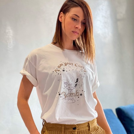 Tee Shirt BREWSTER Tarentino Cherry Bomb Avoine