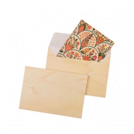Enveloppe WOODHI Bois