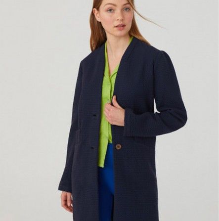 Veste NICE THINGS Jacquard Wrinkled Cotton WWK138 134