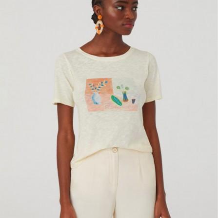 Tee Shirt NICE THINGS Still Life WJK036 620