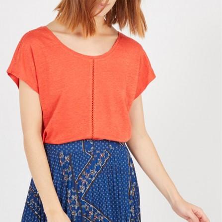 Tee Shirt HARRIS WILSON Idalie Orange