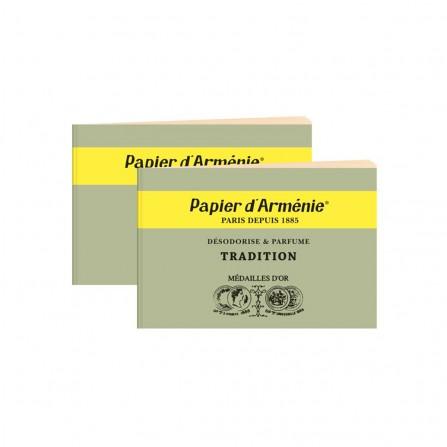 Carnets Par Deux PAPIER D'ARMENIE Tradition