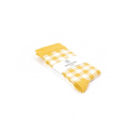 Chaussettes ROYALTIES Vichy Gold