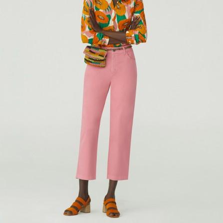 Pantalon NICE THINGS Colors Sarga WWK098 435