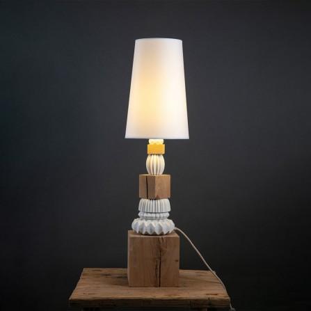Lampe sur Pieds TORTIKIAN Georgette Wood A1