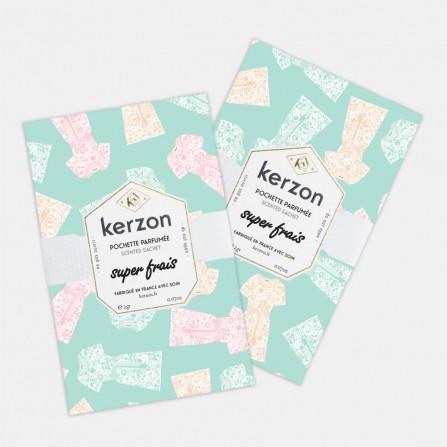 Pochette Parfumée KERZON Super Frais