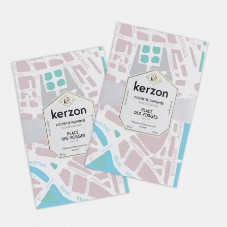 Pochette Parfumée KERZON Place des Vosges x2