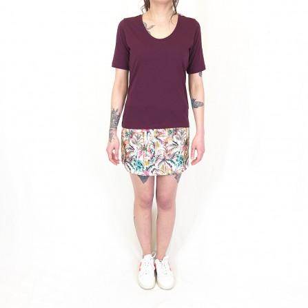 Tee Shirt NICE THINGS Organic Short Sleeve WJK019 351