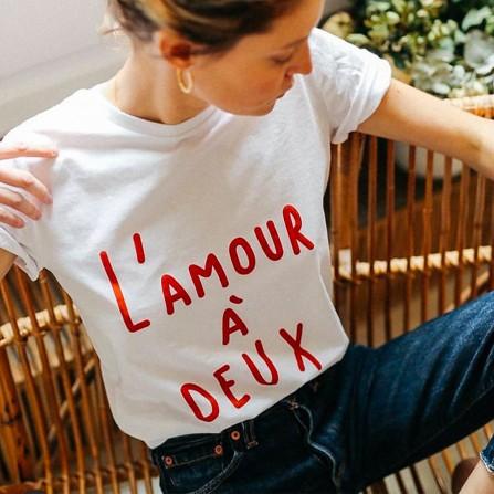 Tee Shirt ELISE CHALMIN L'Amour à Deux