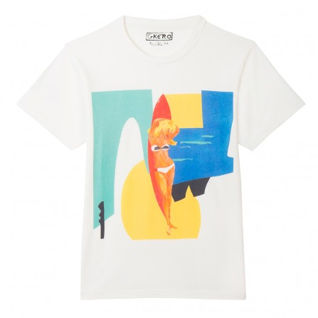 Tee Shirt G.KERO Marocco Off White