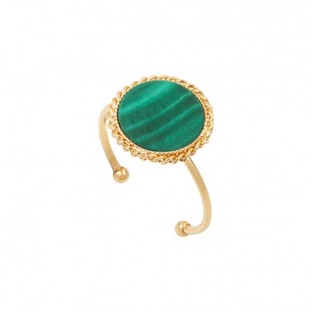 Bague CAROLINE NAJMAN Lady Malachite