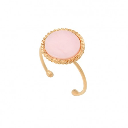 Bague CAROLINE NAJMAN Lady Opale Rose