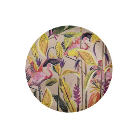 Assiette CATCHII Jungle Rose S