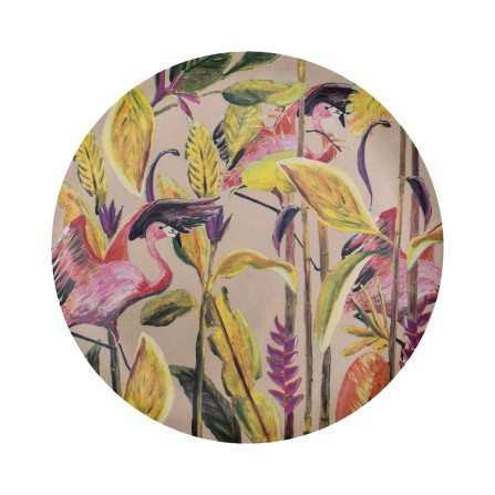 Assiette CATCHII Jungle Rose L