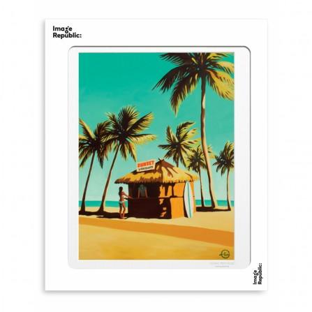 Affiche IMAGE REPUBLIC 40x50 Emilie Arnoux 014 Key West