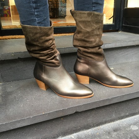 Boots KA MASSALIA Clarisse Laminado Vac B & Crute Olive