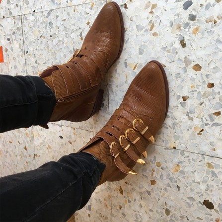 Boots CORALIE MASSON Bellatrix Iguana Camel