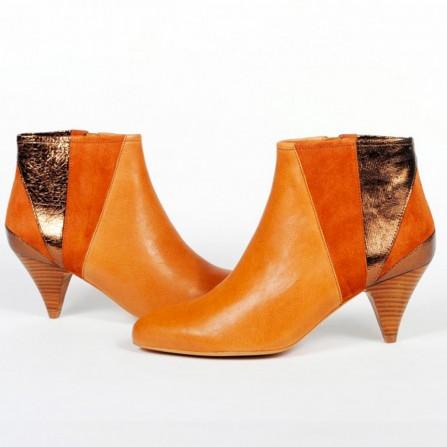 Boots AMESKA Portland Camel Velours