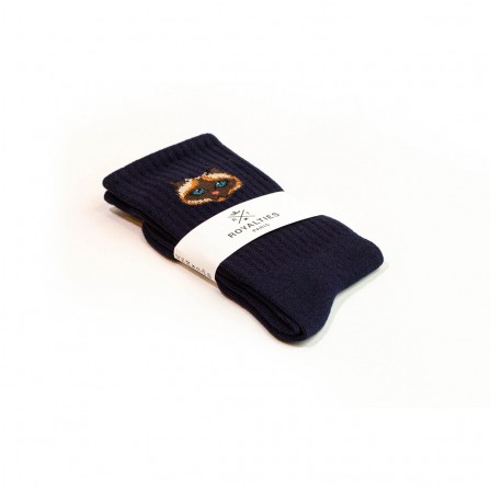 Chaussettes ROYALTIES Pussy Marine