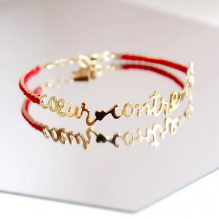 Bracelet CHRISTELLE dit CHRISTENSEN Coeur Contre Coeur
