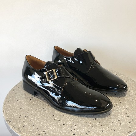 Derby Talon EMMAGO Perkins Patent Black