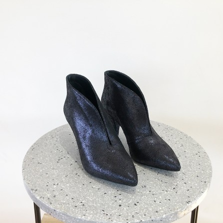 Boots Talon KA MASSALIA Jane Glitter Bleu