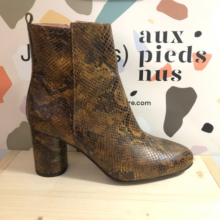 Boots Talon CORALIE MASSON Valery Pyt. Retro Country