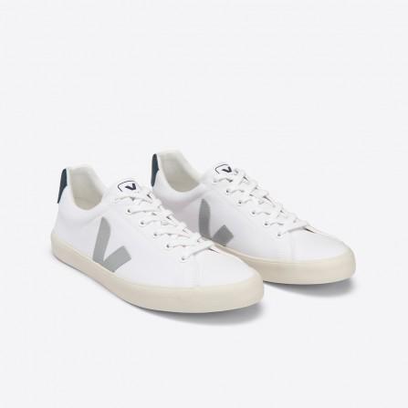 Baskets VEJA Esplar Se Canvas White Oxford Grey Nautico