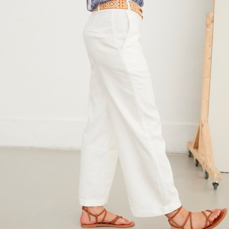 Pantalon TINSELS Romarin Ecru