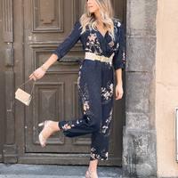 On adore la combi avec imprimés cerisiers 🌸 Une note sur 10 pour ce look !  Combi Idano Paris Ceinture Des Petits Hauts Sac Antoinette Ameska Créoles, Collier, Sautoir La2l Sandales Bobbies  ✨-20% sur les vêtements et accessoires jusqu'à dimanche 25 avril 20h avec le code GAELLE   #style #ootd #outfit #outfitoftheday #mode #fashion #pretaporter #eshop #ecommerce #boutiqueenligne #bobbies #idano #despetitshauts #la2l #jalouses #clermont #clermontfd #clermontferrand