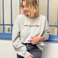 """En manches longues ou courtes, le sweat est de retour ! 🌸  """"Club quarantine"""" @livbergenofficial """"Coralie Masson"""" @coralie_masson """"Poisson"""" @nicethingspalomas """"We are open"""" @livbergenofficial  #clermontferrand #clermontfd #jalousesstore #conceptstore #siteenligne #clfd #style #ootd #outfit #mode #fashion #pretaporter #eshop #ecommerce #boutiqueenligne"""